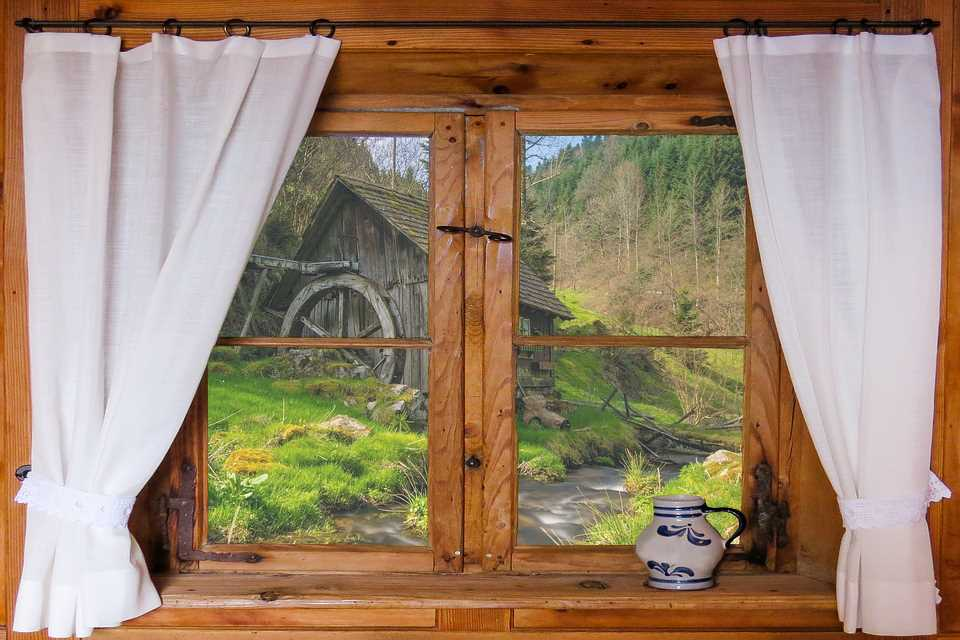 Gardinen und Vorhänge aus ökologischen Materialien