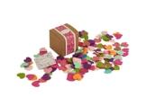 PAPERBLOOMS Seedbombs - Blühende Konfetti Herzen bunt, Blumensamen als Weihnachtsgeschenk - 1