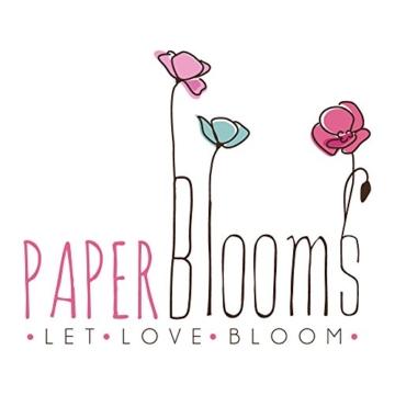 PAPERBLOOMS Seedbombs - Blühende Konfetti Herzen bunt, Blumensamen als Weihnachtsgeschenk - 5