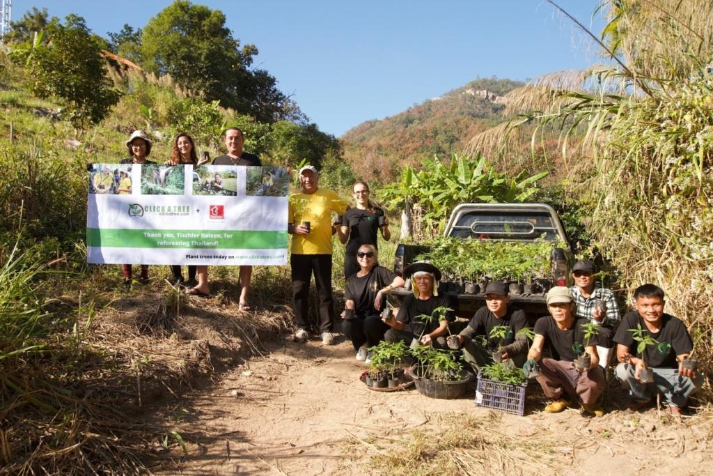 Click a Tree Aufforstung in Thailand