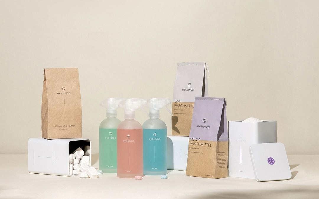 Nachhaltig getestet: Everdrop Reinigungs- und Waschmittel ohne Plastik