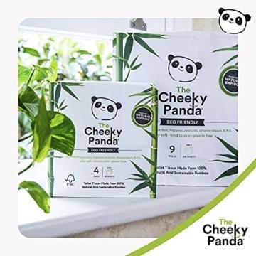 The Cheeky Panda – Toilettenpapier aus Bambus | Maxi 24er-Packung (6 Packungen mit je 4 Rollen, 3-Lagig, 200 Blatt) | Hypoallergen, Plastikfrei, Umweltfreundlich, Super Sanft, Reißfest & Nachhaltig - 4